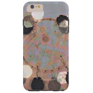 Black white dots grunge style unity digital art tough iPhone 6 plus case