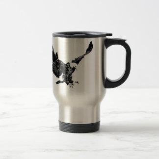 Black & White Eagle Coffee Mugs