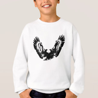 Black & White Eagle Sweatshirt