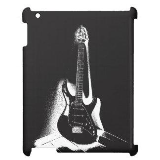 Black & White Electric Guitar - iPad Case