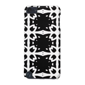 Black & White Floral iPod Touch (5th Generation) Case