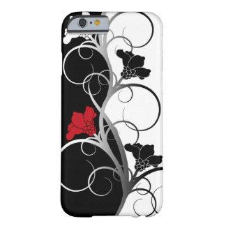 Black/White Flowers iPhone 6 case