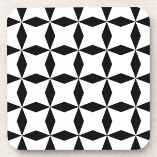 Black & White Geo Coaster