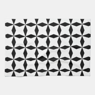 Black & White Geo Kitchen Towel