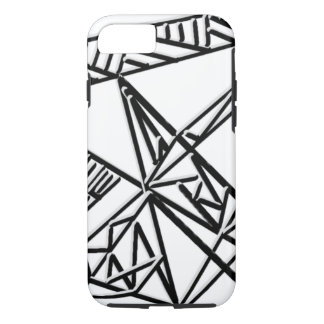Black & White Geometry iPhone 7 Case