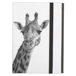 Black & White Giraffe Cover For iPad Air