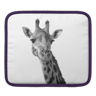 Black & White Giraffe Sleeve For iPads