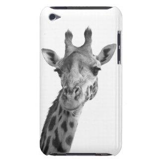 Black & White Giraffe iPod Touch Cases