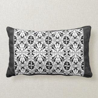 Black & White Graphic & Damask American MoJo Pillo Throw Cushions