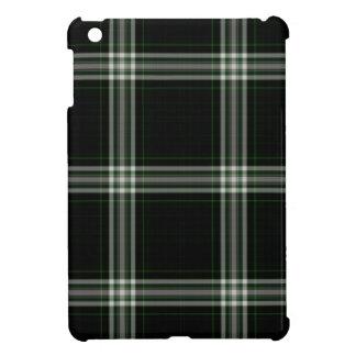 Black White Green Tartan Plaid Case For The iPad Mini