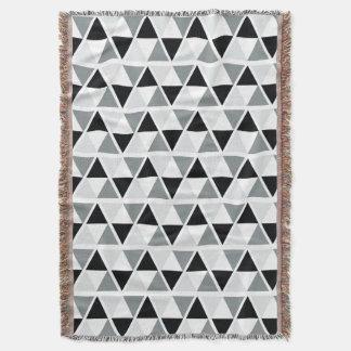 Black White Grey Geometric Pattern