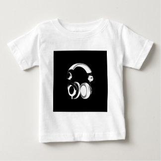 Black & White Headphone Silhouette Shirt