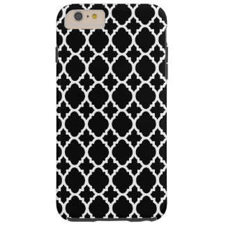 Black white iPhone 6 plus tough case