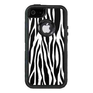 Black white iPhone SE 5/5s case otterbox