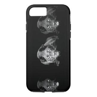 Black & White Jaguar iPhone 7 Case
