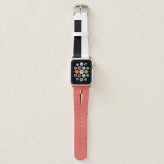 Black & White Jesus Fish Sword and Stripe Apple Watch Band