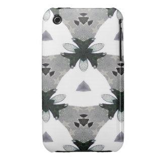 Black & White Kaleidoscope 1 iPhone 3 Case-Mate Case