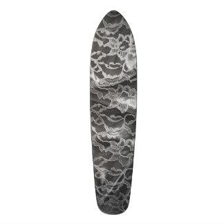 Black&White Lace Custom Skate Board