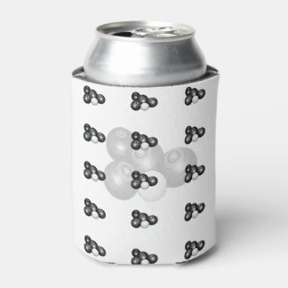 Black_White_Lawn_Bowls_Stubby_Can_Holder
