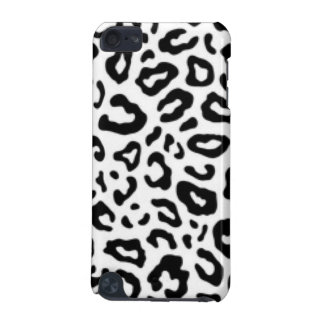 Black white Leopard Pattern Print Design iPod Touch (5th Generation) Cover