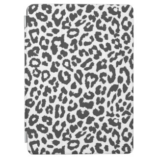 Black & White Leopard Print Animal Skin Patterns iPad Air Cover