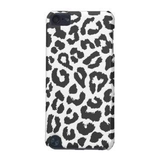 Black & White Leopard Print Animal Skin Patterns iPod Touch 5G Case