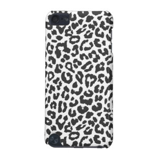 Black & White Leopard Print Animal Skin Patterns iPod Touch 5G Case