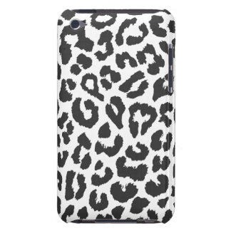 Black & White Leopard Print Animal Skin Patterns iPod Touch Cover