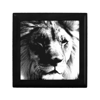 Black & White Lion Gift Box