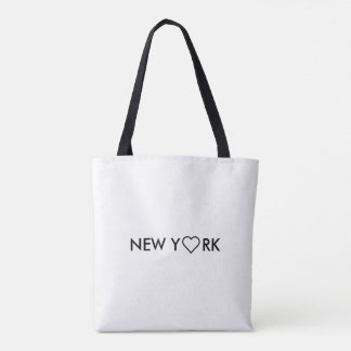 Black & White Manhattan New York Tote Shopping bag