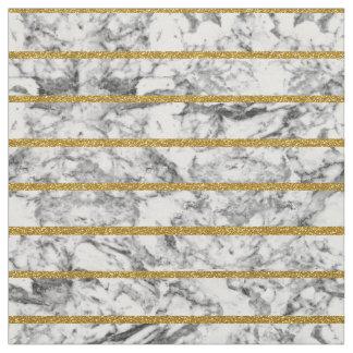 Black white marble gold glitter effect stripes