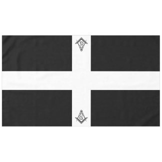 Black & White Masonic Tablecloths and Decorations