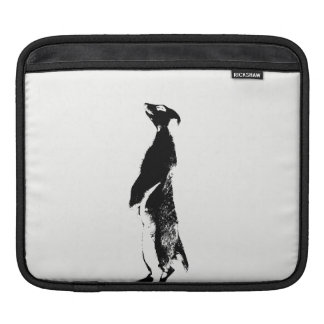 Black & White Meerkat - right - Tablet sleeve Sleeve For iPads