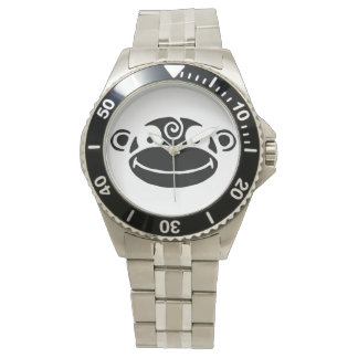 Black & White Monkey Watch