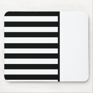 Black & White Mouse-Pad Mouse Pad