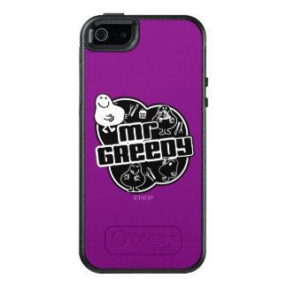 Black & White Mr. Greedy OtterBox iPhone 5/5s/SE Case