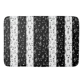 Black And White Striped Bath Mat DescargasMundialescom