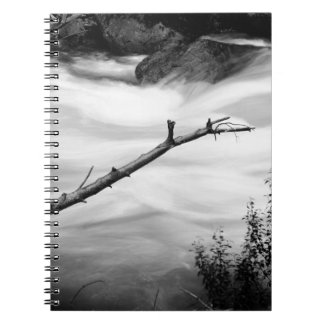 Black & White Nature Photo Spiral Note Book