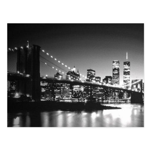 Black & White New York City Postcards