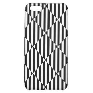 Black white optical illusions bent lines diamonds iPhone 5C covers