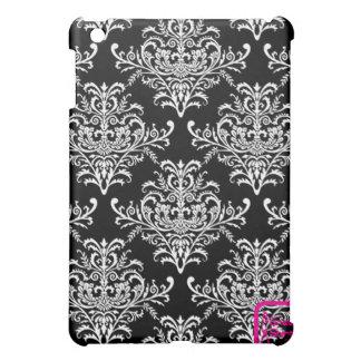 Black & White Ornaments iPad Mini Cover