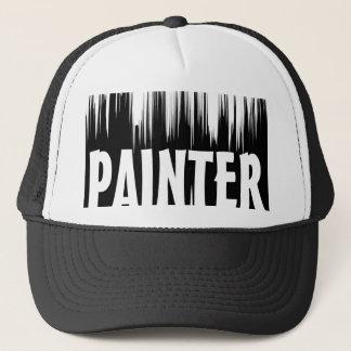 BLACK & WHITE PAINTER CAP