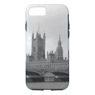 Black White Palace of Westminster iPhone 7 Case