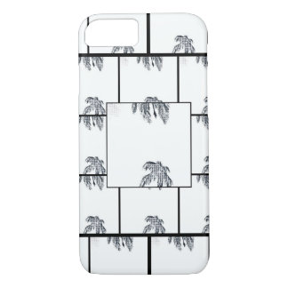 Black & White Palm Tree Pop Art iPhone 8/7 Case