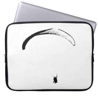 Black & White Parachute - laptop sleeve