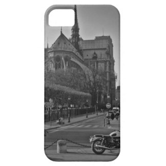 Black & White Paris notre dame Barely There iPhone 5 Case