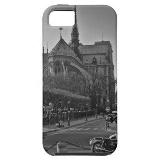 Black & White Paris notre dame Case For The iPhone 5