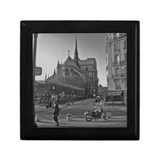 Black & White Paris notre dame Gift Box