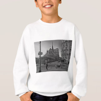 Black & White Paris notre dame Sweatshirt