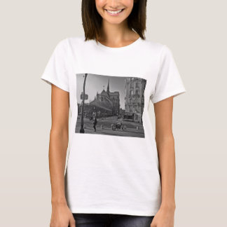 Black & White Paris notre dame T-Shirt